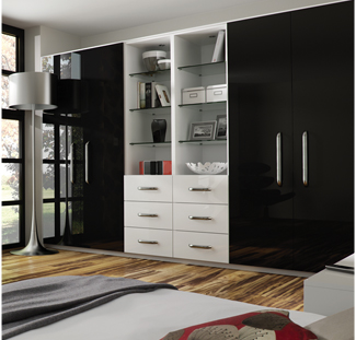 Black Gloss Bedroom