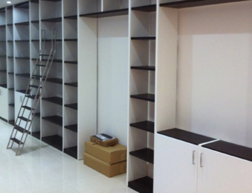 Bespoke Library and Storage Space in Kent