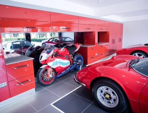 Sports Ferrari Garage Garage Fit Out