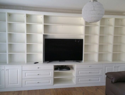 TV and Media Storage Space design in Kent